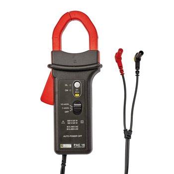 Chauvin Arnoux PAC 16 Stromzange mit 4 mm Stecker, 40/400 A AC, 60/600 A DC, 10 mV/A oder 1 mV/A