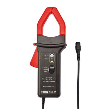 Chauvin Arnoux PAC 27 Oszilloskop-Stromzange mit BNC Stecker, 100 A / 1000 A AC, 150 A / 1400 A DC, 10 mV/A oder 1 mV/A