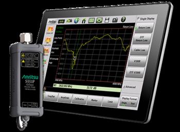 Anritsu Site Master S331P ultrakompakter Kabel u. Antennen-Analyzer, 150 kHz bis 4 / 6 GHz